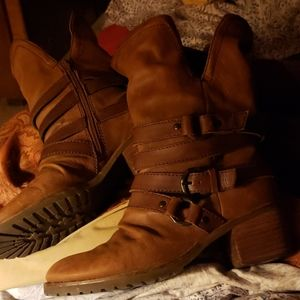 OTBT Genuine Leather Boots 7 or 7.5